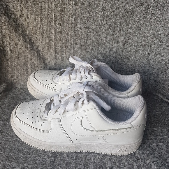 Nike Shoes Womenkids Air Force 1 White On Hold Poshmark